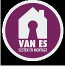 logo Van Es sloten en montage
